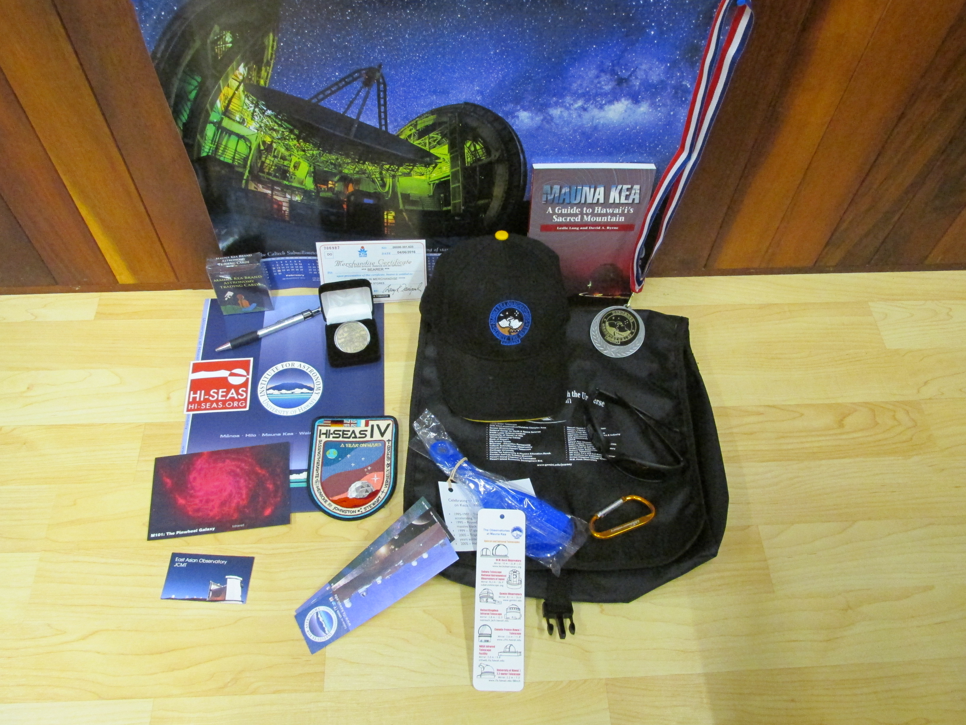 Examples of prizes offered in the past